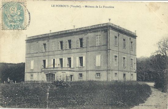 Le Poiroux, château de la Proutière.