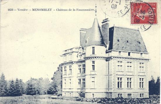 Nemomblet, château de la Fauconnière.