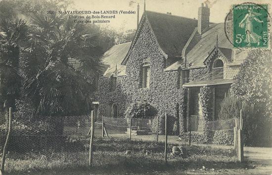 St-Avaugourd-des-Landes, château de Bois-Renard.