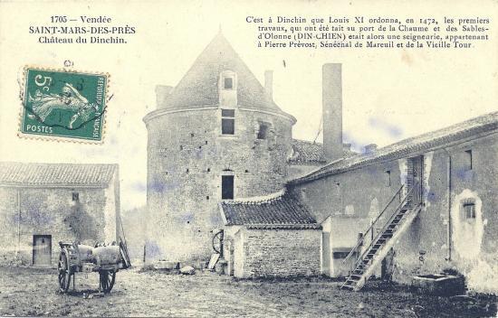 St-Mars-Des-Prés, le château de Dinchin.