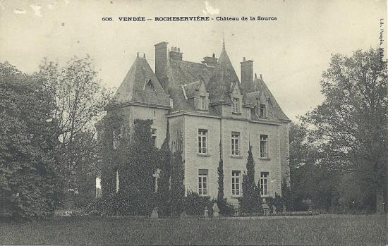 Rocheservière, le château de la Source.
