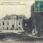 Cheffois, le château de la Rousselière.