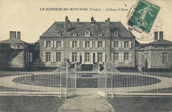 La Boissière-de-Montaigu, le château d'Asson.