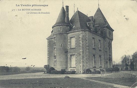 La Mothe-Achard, le château de Brandois.