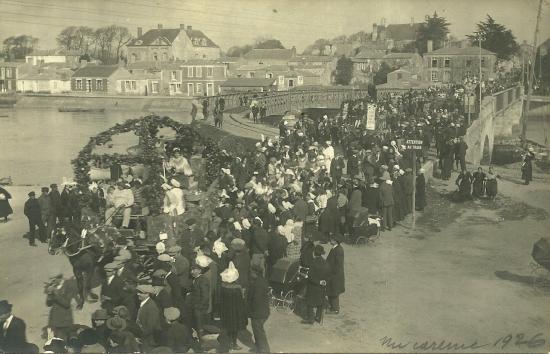 St-Gilles-Croix-de-Vie, mi-carême 1926.