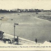 St-Gilles-Croix-de-Vie, vue du port et le quai.
