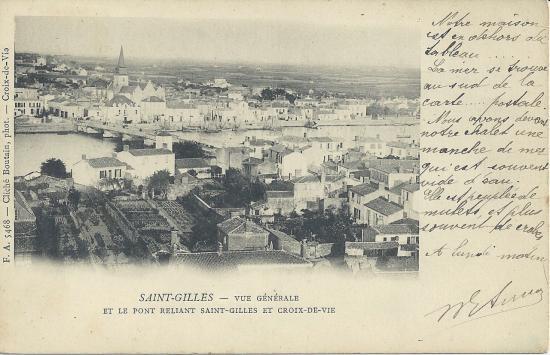 St-Gilles-sur-Vie, le pont reliant Saint-Gilles et Croix-de-Vie.