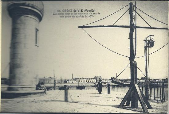 Croix-de-Vie, la petite tour et le sémaphore.