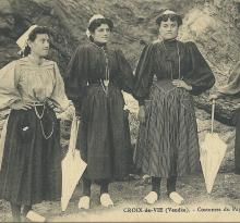 Croix-de-Vie, costumes de pays.