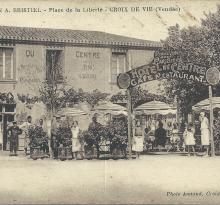 Croix-de-Vie, Hôtel du Centre, Maison Bristiel.