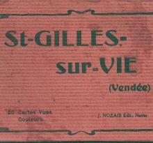 Carnet de 20 vues de St-Gilles-sur-Vie.