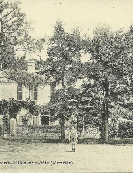 Les villas, les chalets et les pensions de famille de Saint-Gilles-sur-Vie.