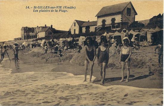 St-Gilles-sur-Vie, les plaisirs de la plage.