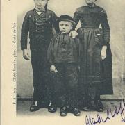 Croix-de-Vie, groupe d'enfants maraichins.