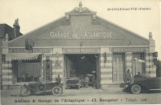 St-Gilles-sur-Vie, ateliers et garage de l'Atlantique.