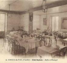 Croix-de-Vie, Hôtel Neptune, la salle à manger.