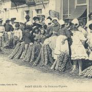 St-Gilles-sur-Vie, la foire aux oignons.