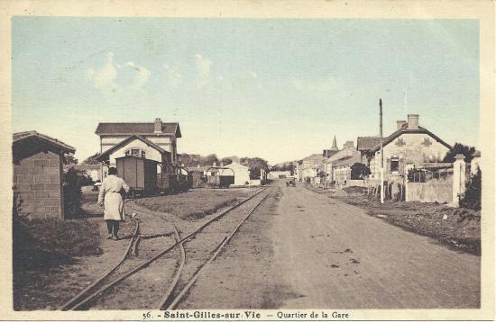 St-Gilles-sur-Vie, quartier de la petite gare.