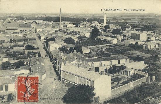 Croix-de-Vie, vue panoramique.