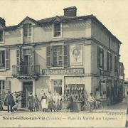 St-Gilles-sur-Vie, place du marché aux légumes.