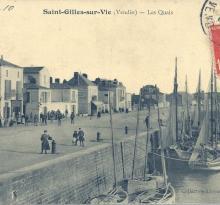 Saint-Gilles-sur-Vie, les quais.