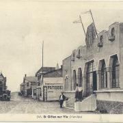 St-Gilles-sur-Vie, entrée du casino.