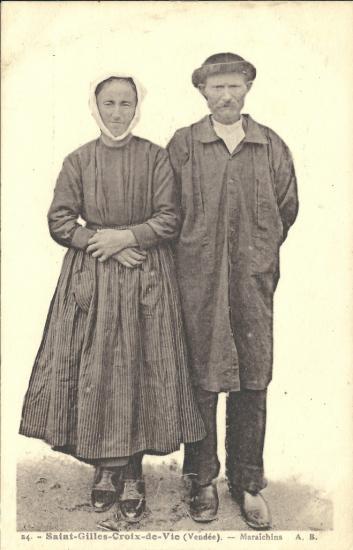 St-Gilles-Croix-de-Vie, maraichins.