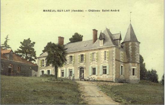 Mareui-sur-le-Lay, château de St-andré.