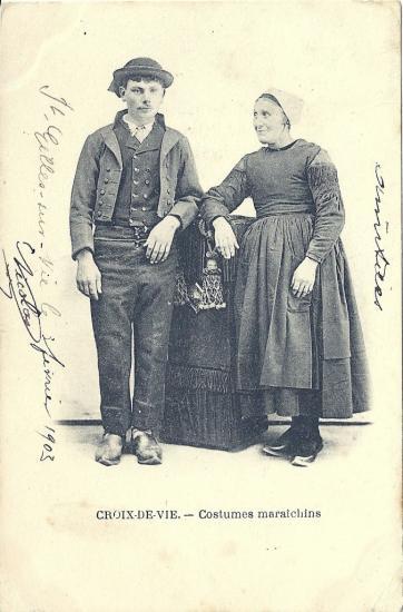 Croix-de-Vie, costumes maraichins.