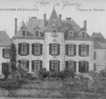 Chavagnes-en-Paillers, le château de L'Huilière.