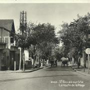 St-Gilles-sur-Vie, la route de la plage.