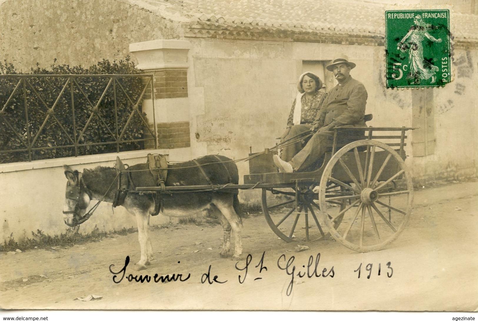 Saint-Gilles-sur-Vie, petite ballade en calèche.