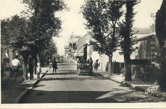 St-Gilles-sur-Vie, l'avenue de la plage.