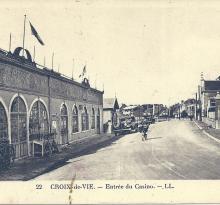 Croix-de-Vie, entrée du casino.