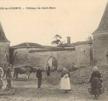 La Chaize-le-Vicomte, château de St Mars.