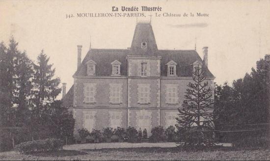 Mouilleron-en-Pareds, le château de la Motte.