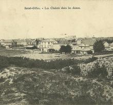 St-Gilles-sur-Vie, les chalets dans les dunes.