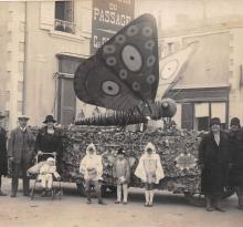 Croix-de-Vie, fête des fleurs en 1920.