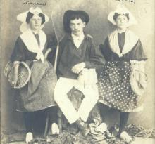 St-Gilles-sur-Vie, costumes sablais.