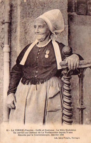 La Verrie, la Mère Madeleine.