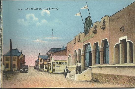 St-Gilles-sur-Vie, le casino.