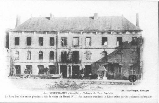 Mouchamps, château du Parc Soubise.