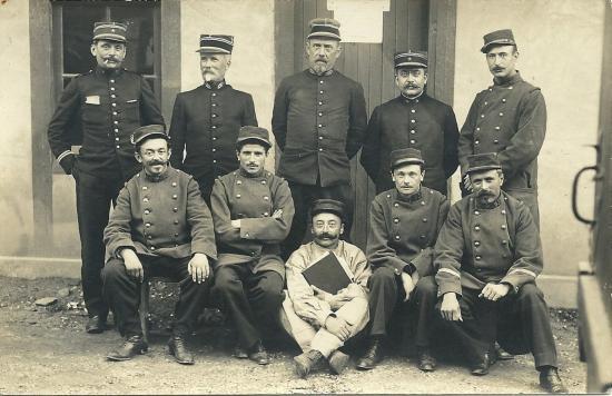 Croix-de-Vie, détachement militaire.