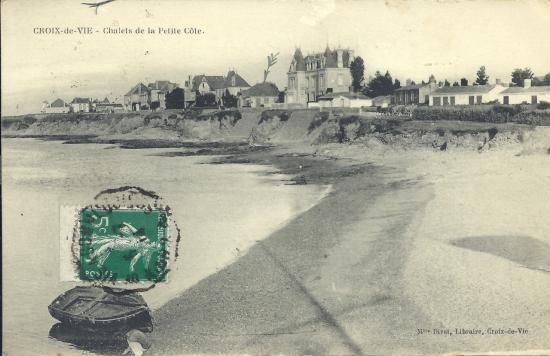 Croix-de-Vie, les chalets de la petite côte.