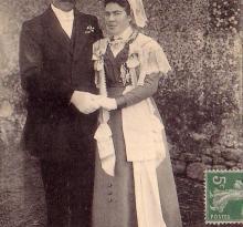 Mariés vendéens.