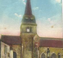 St-Gilles-sur-Vie, l'église côté nord.