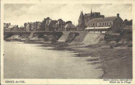 Croix-de-Vie, hôtel de la plage.