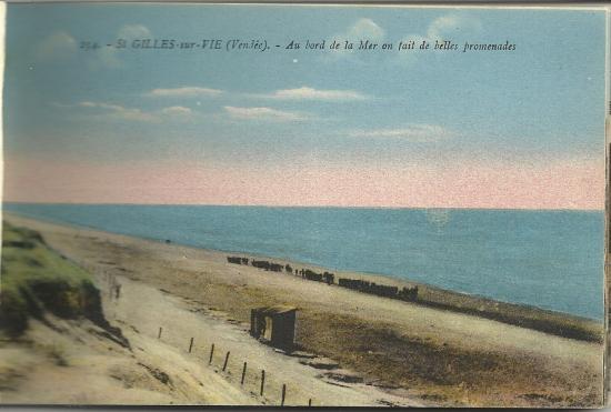 St-Gilles-sur-Vie, au bord de la mer.