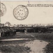 Sion ,hôtel de l'Océan et des Pins et la chapelle.
