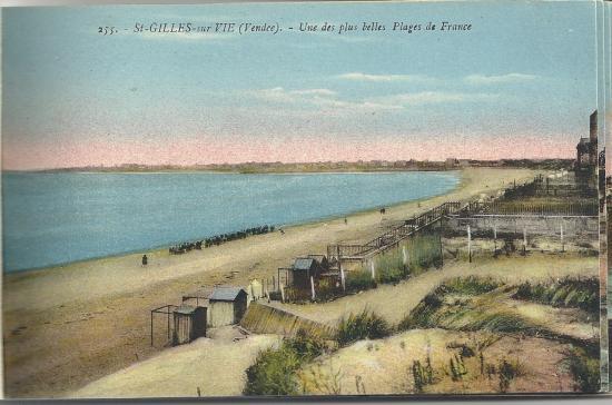 st-Gilles-sur-Vie, une des plus belles plages de France.